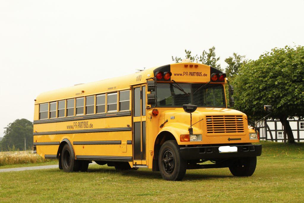 US-Schoolbus: Partybus