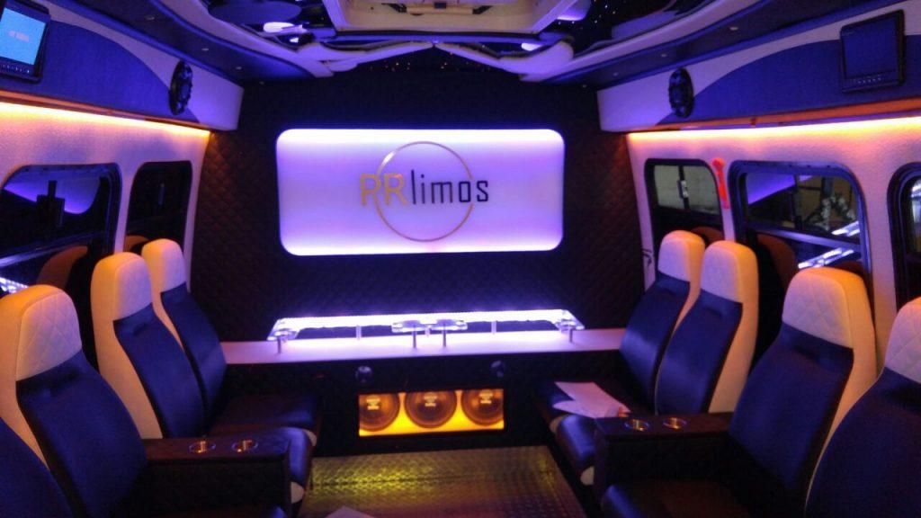 Limousine von innen - PR-Limos